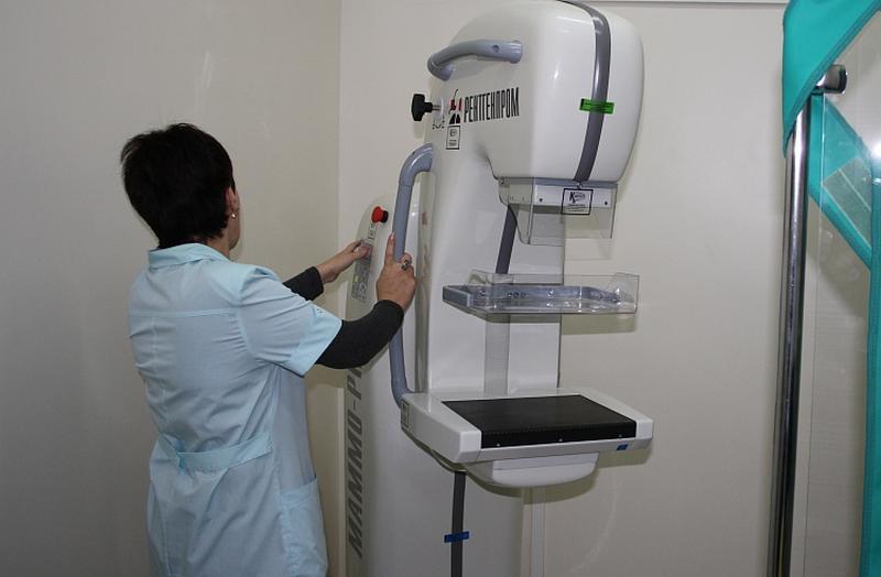 В Находке установили современный маммограф