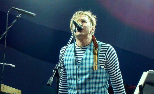 Илья Лагутенко исполнил «Зимнюю песню Муми-троллей»