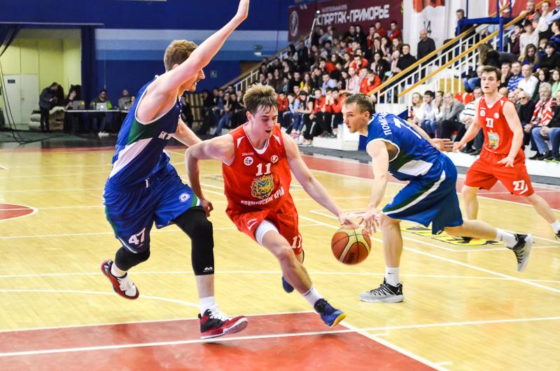 Баскетболисты «Спартака-Приморье» проиграли «Новосибирску»
