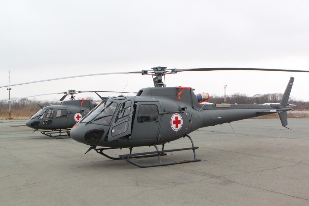 С начала 2019 вертолёты санитарной авиации в Приморье выполнили 140 рейсов