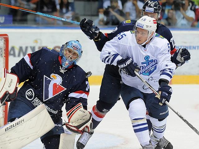 «Адмирал» проиграл «Словану» в гостевом матче КХЛ