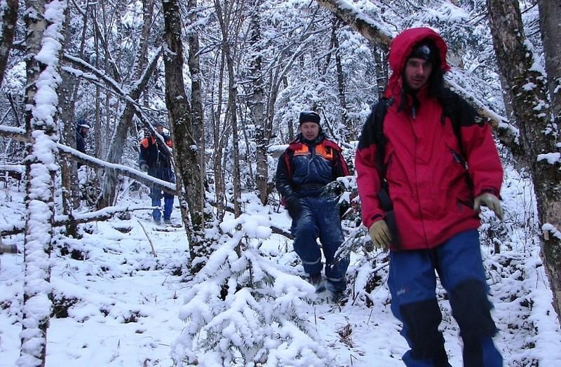 В Приморье в новогоднюю ночь в лесу заблудилась семейная пара