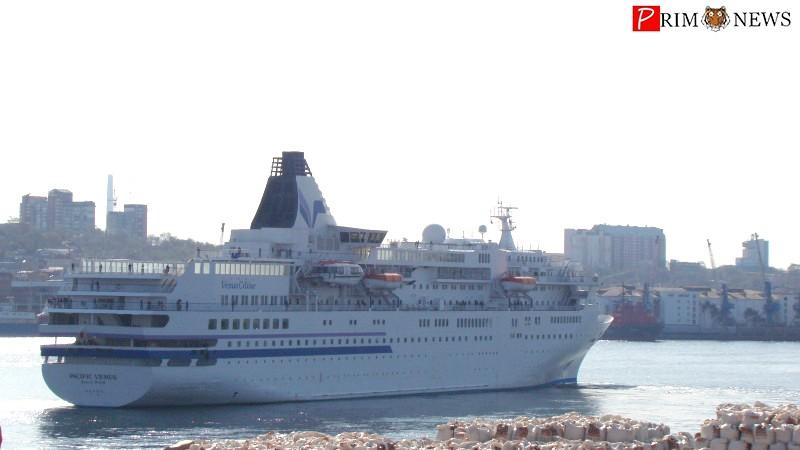 В порт Владивосток в 2017 году зайдут четыре круизных лайнера из Японии, семь — из Южной Кореи