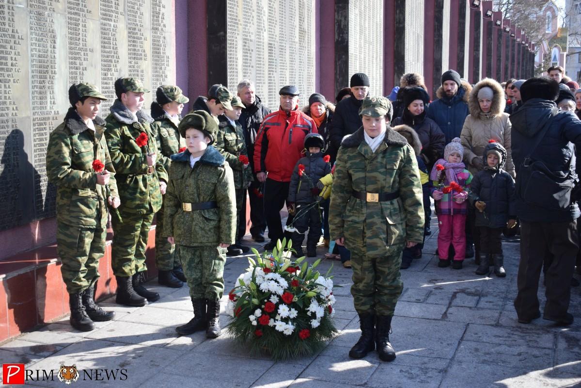 Во Владивостоке отметили 73-ю годовщину снятия блокады Ленинграда
