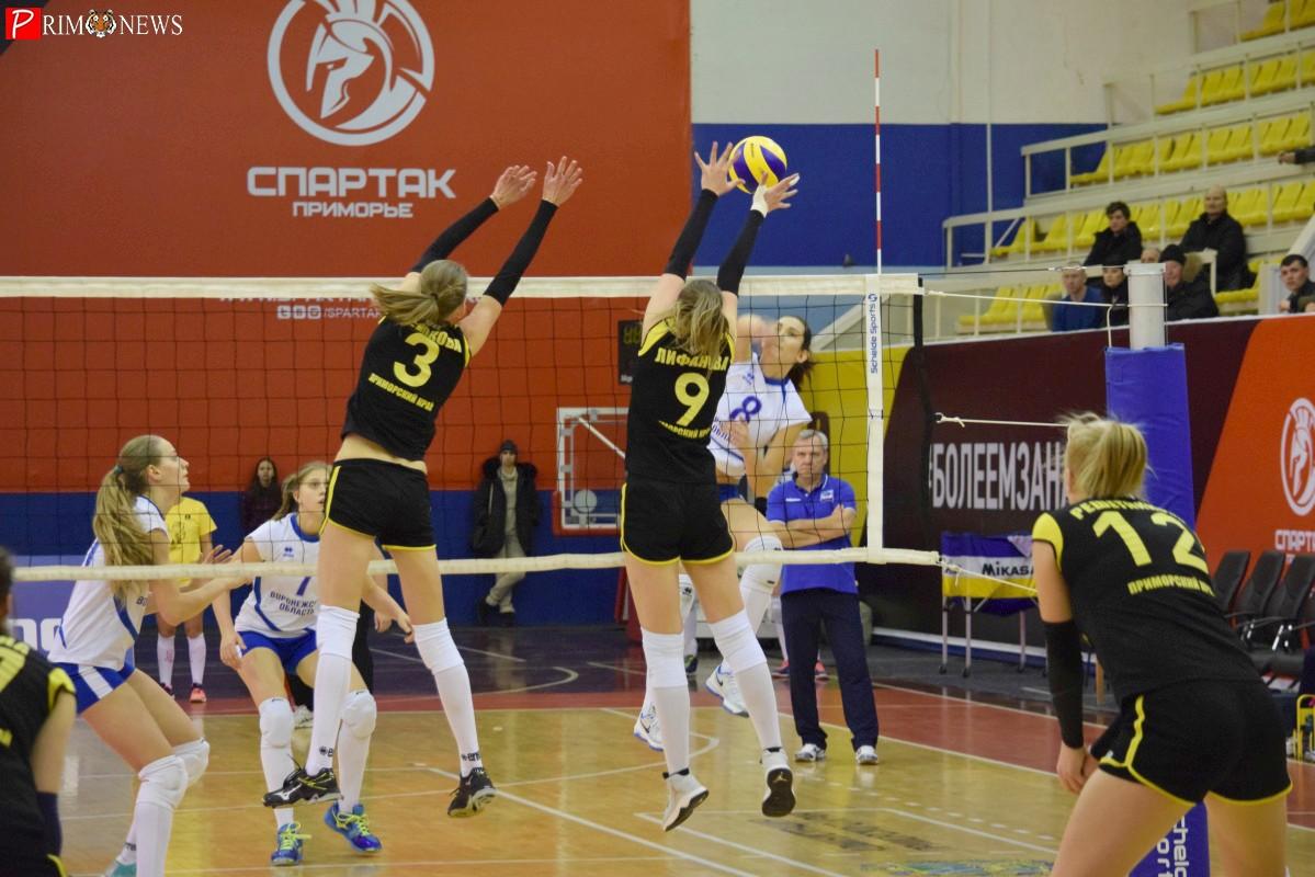 Волейболистки «Приморочки» начали 2017 год с победы