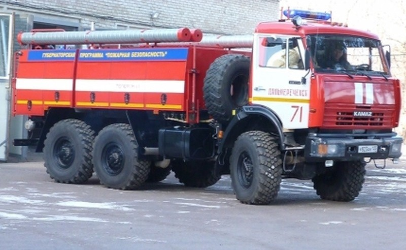 Огнеборцы, которые ехали на крупный пожар во Владивостоке, заблудились