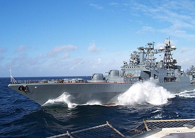 Отряд боевых кораблей ТОФ завершил деловой заход в порт Пусан