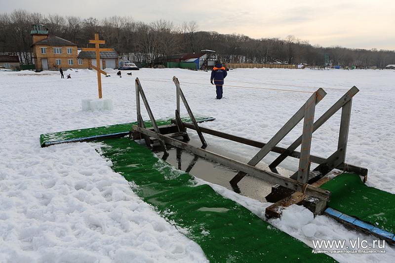 Владивостокцы раскритиковали организаторов крещенских купаний