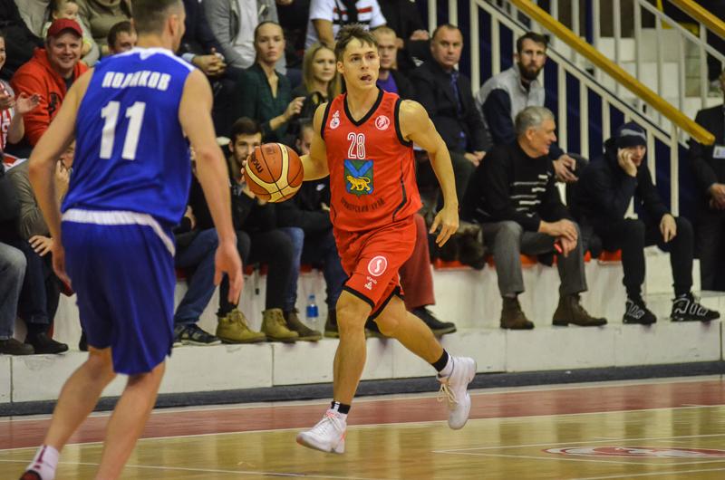 Баскетболисты «Спартака-Приморье» проиграли на Урале