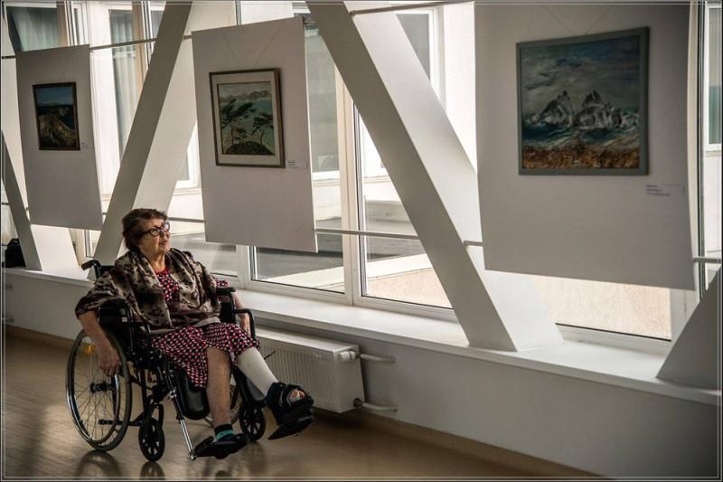 Арт-терапия для пациентов: в Медцентре ДВФУ открылась новая выставка