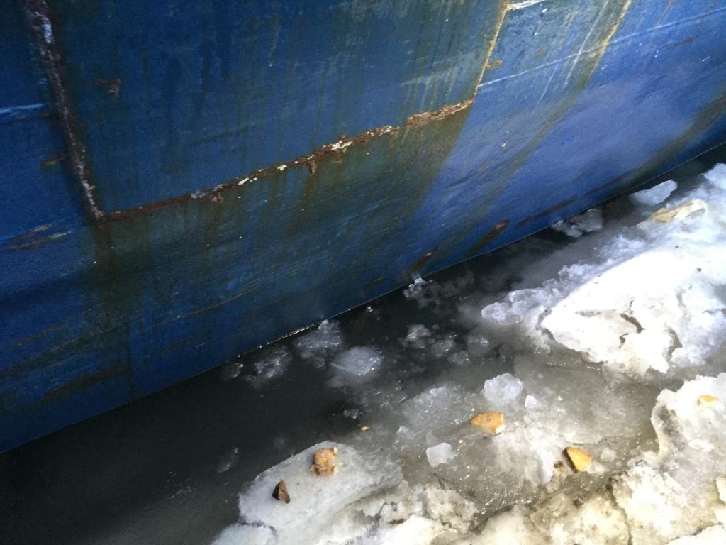 Во Владивостоке чуть не утонуло многострадальное судно «Еруслан»