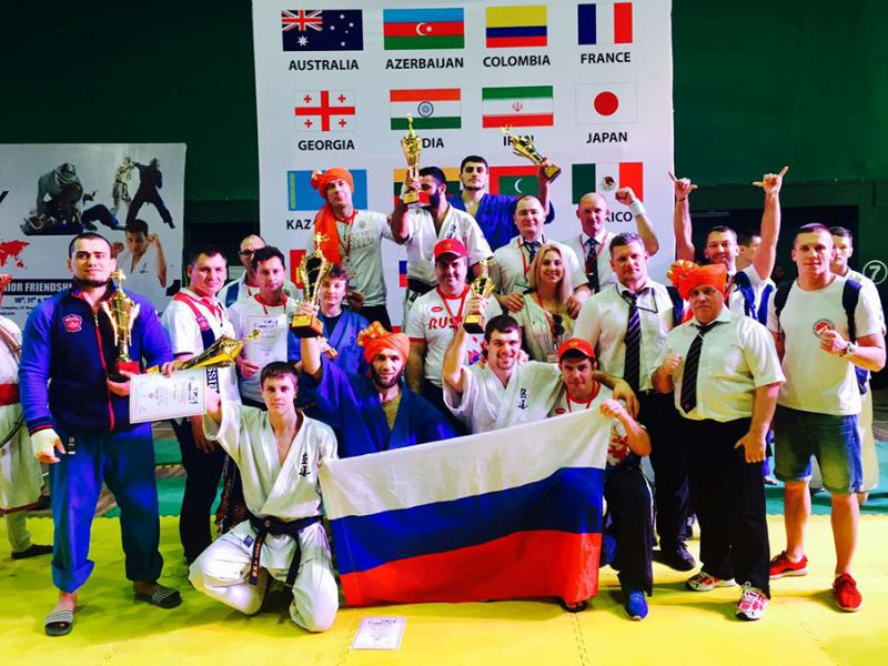 Приморские кудоисты завоевали медали всех достоинств на Кубке мира