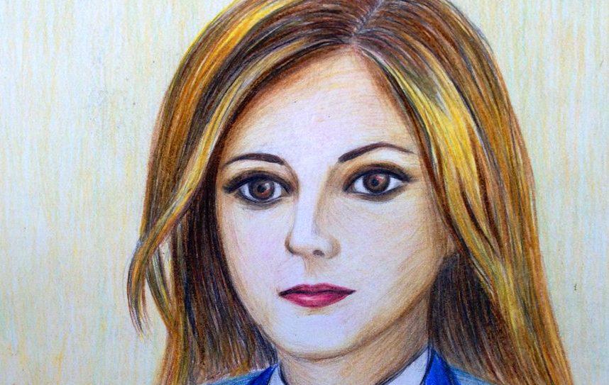 Приморский поклонник Натальи Поклонской порадовал её портретом