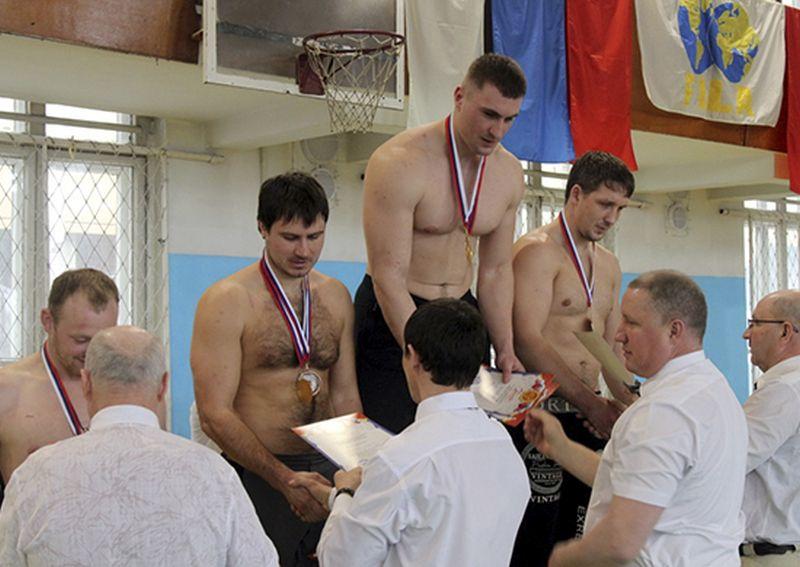 Военнослужащие ТОФ стали победителями чемпионата Приморского края по сумо