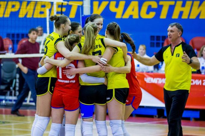 «Приморочка» выиграла очередной матч чемпионата России
