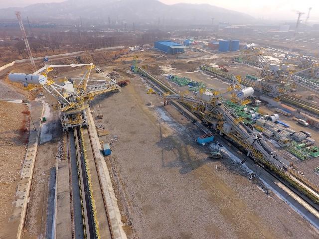 Уголь в порту Восточном будут грузить новые японские машины