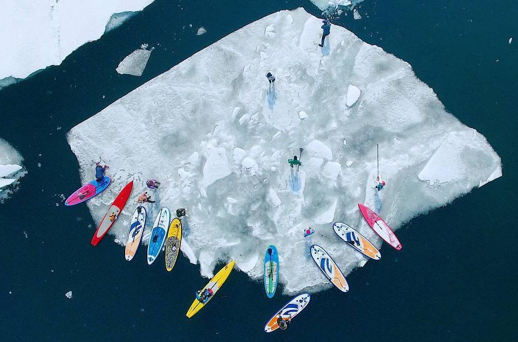 Владивостокцы угнали льдину