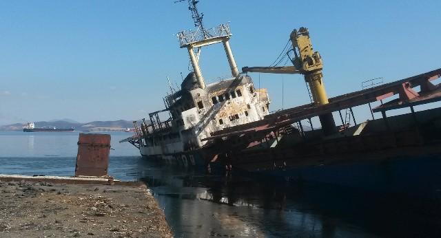 Многострадальный сухогруз «Еруслан» выставили на торги в Приморье