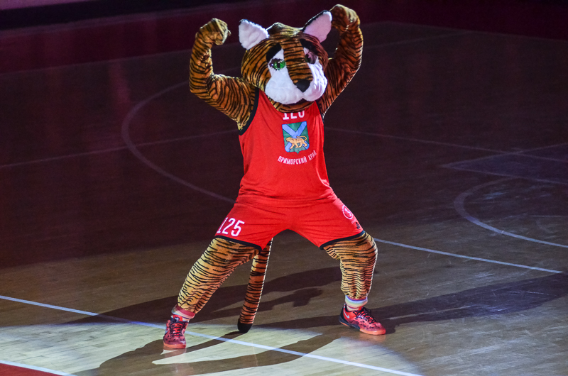 Владивосток увидит два матча 1/4 финала чемпионата России по баскетболу