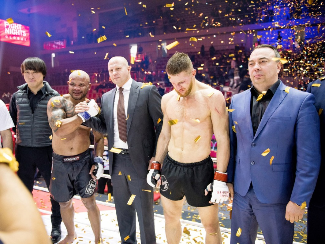 Во Владивостоке пройдёт международный турнир по смешанным единоборствам ММА Fight Nights Global 63