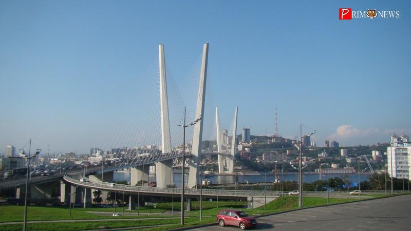 Мужчину, бегущего в трусах по мосту через Золотой Рог во Владивостоке, ловили автомобилисты