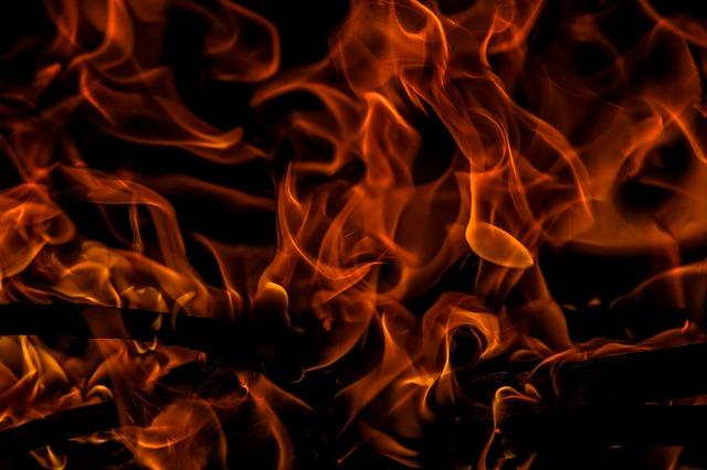 На переполненной парковке у популярного места отдыха на Русском острове загорелась машина