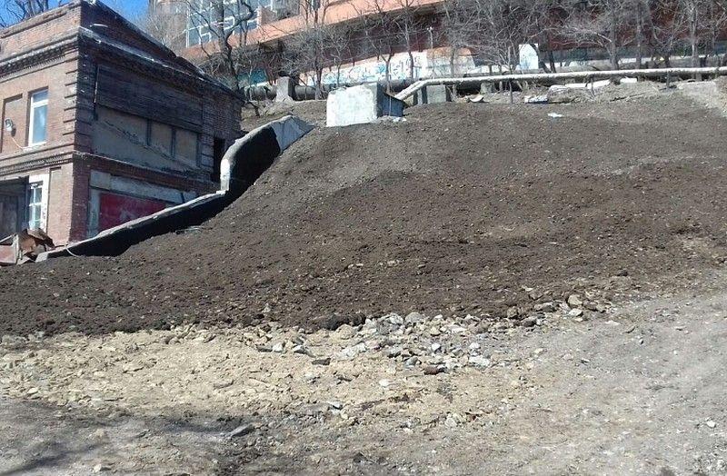 Во Владивостоке завершили снос самостроя возле Дома Элеоноры Прей