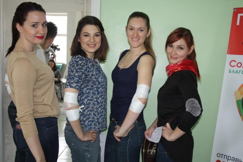 Приморские доноры сдали более 70 литров крови за три часа