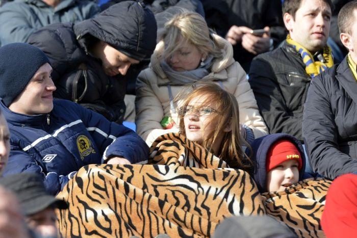 Болельщики «Луча-Энергии» на стадионе хором спели «Владивосток 2000»