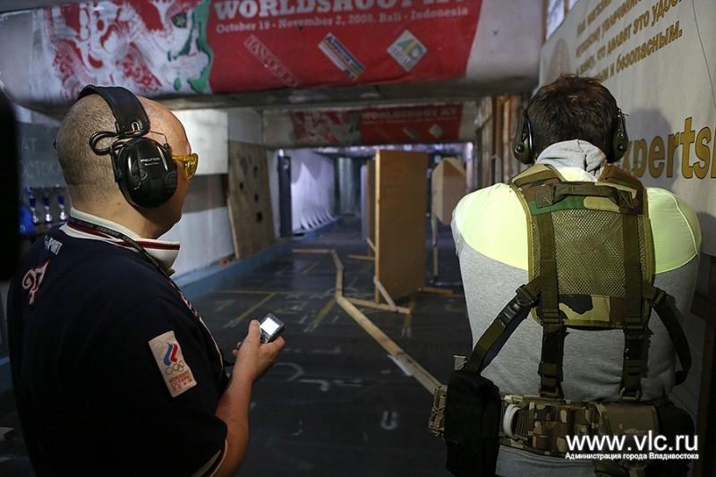 Во Владивостоке прошёл чемпионат по практической стрельбе из пистолета