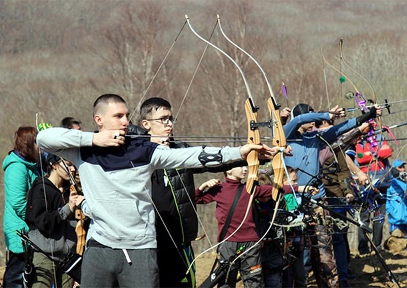Во Владивостоке впервые прошёл чемпионат ТОФ по стрельбе из лука