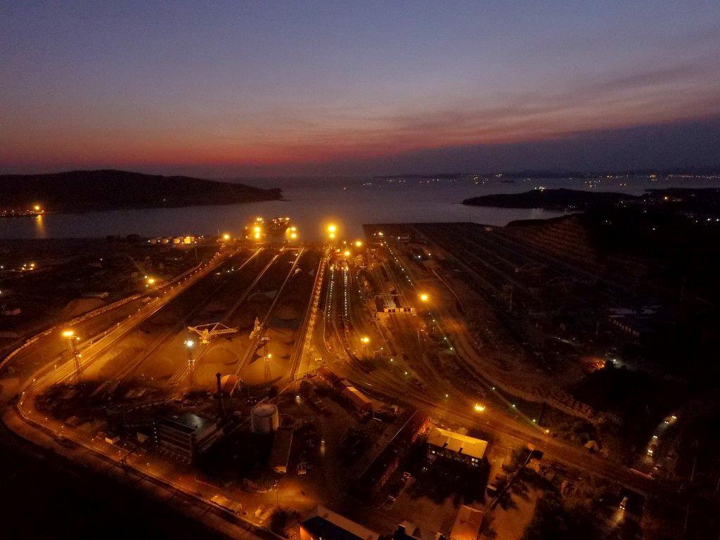 В Приморье запустили третью очередь угольного Восточного порта