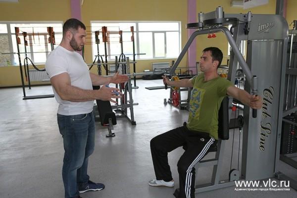 В посёлке Трудовое открылся новый спортивный комплекс