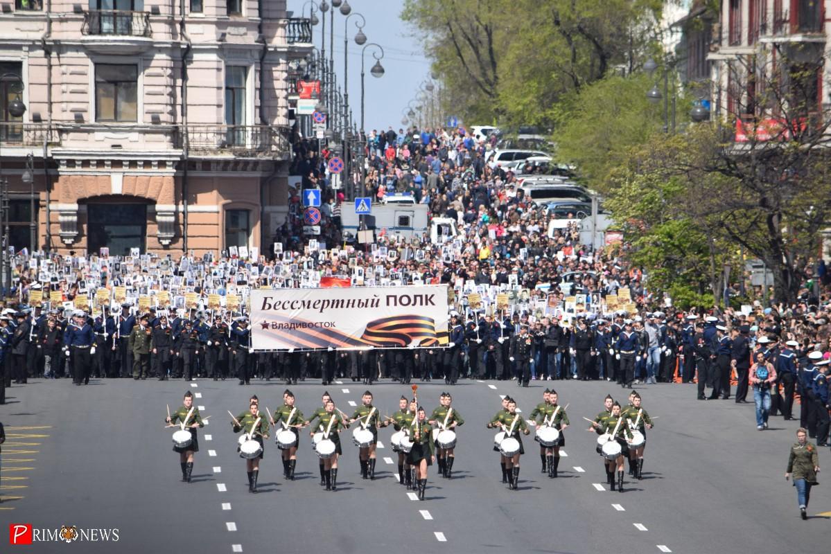 Во Владивостоке отпраздновали День Победы