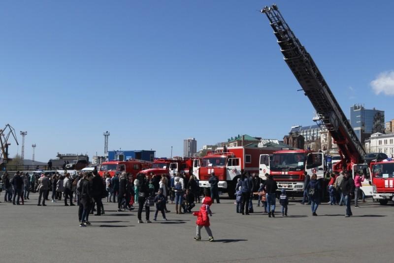 День пожарной охраны отметили во Владивостоке