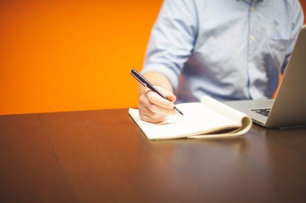 блокнот, документ, письмо