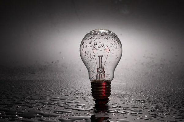 лампочка, свет, электричество