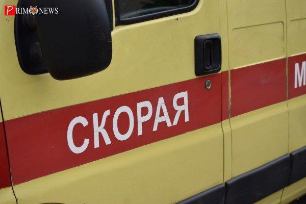 Во Владивостоке школьника отвезли в реанимацию после ДТП