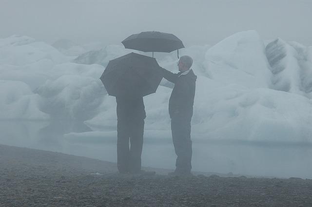 Во Владивостоке 3 декабря на фоне тумана пошёл дождь