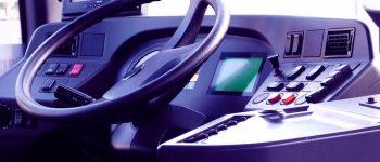 Автобус, руль