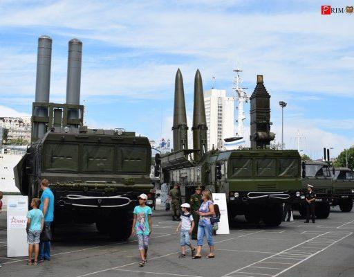 Во Владивостоке стартовал военно-технический форум «Армия-2017»