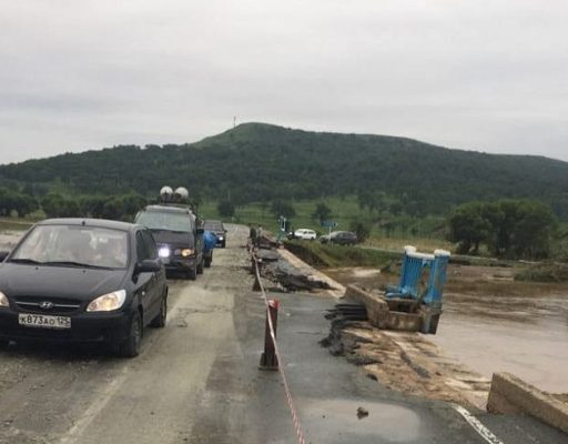 В Приморье восстановили дорогу в районе посёлка Тихое. Она ведёт в Хасанский район