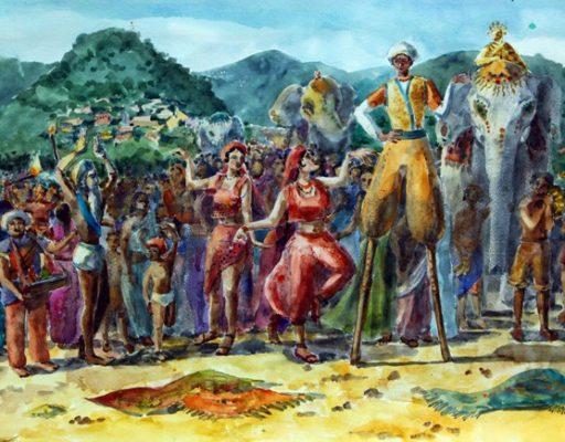 Юные художники приморской глубинки изобразили далёкую Индию