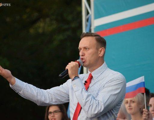 Алексей Навальный во Владивостоке: «Я хочу стать первым честным человеком у власти в России»