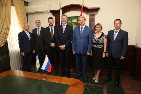 Посол Швеции Петер Эриксон: «Владивосток – привлекательный город для европейского бизнеса и туристов»