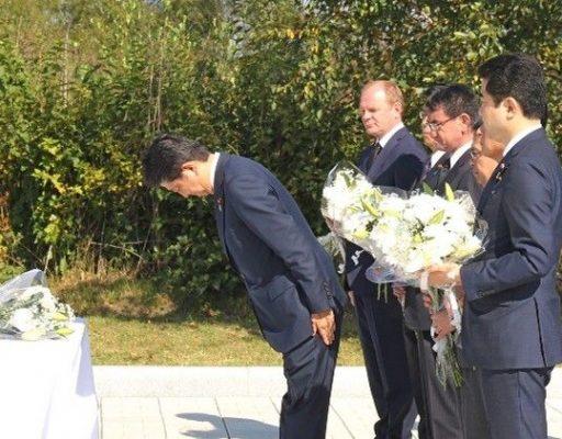 Премьер-министр Японии Синдзо Абэ посетил Артём