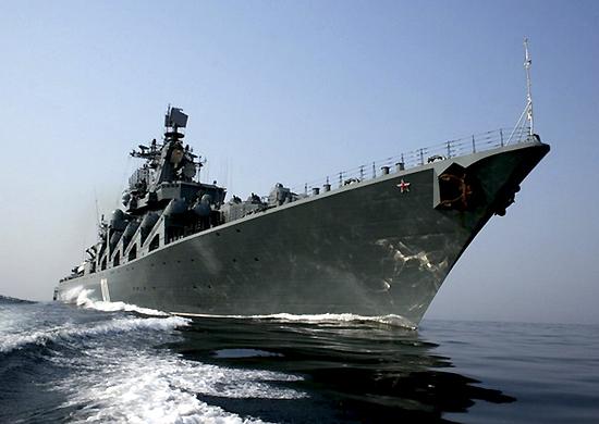 Отряд кораблей Тихоокеанского флота прибыл в Камбоджу