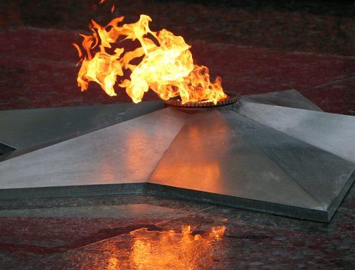 Во Владивостоке делегация Морских сил самообороны Японии возложила венки к Вечному огню