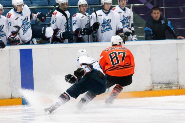 Хоккеисты приморского «Тайфуна» пропустили 17 голов в двух матчах