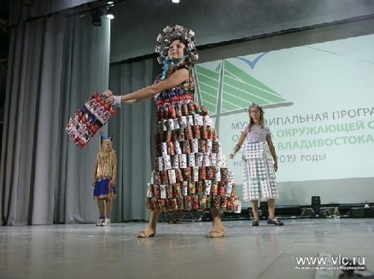 Во Владивостоке около 500 школьников и студентов участвовали в эко-шоу